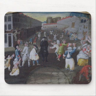Street Performers at the Carnival Populaire Mouse Pad