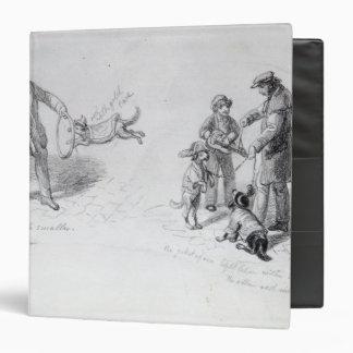 Street Performers, c.1839-43 Binder