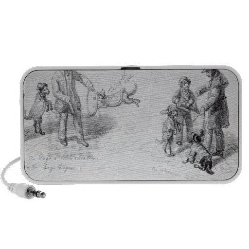 Street Performers, c.1839-43 Travelling Speakers