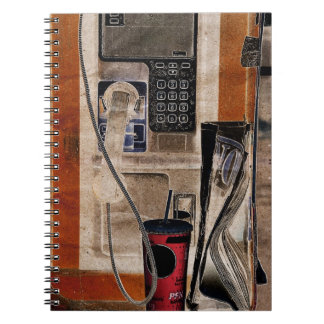 street phone communication still-life notebook