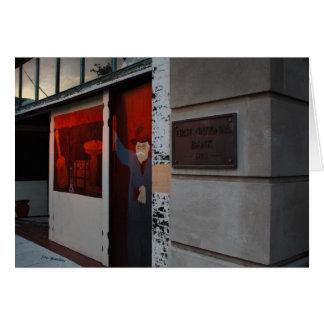 Street Photographer Street Art Card
