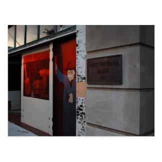 Street Photographer Street Art Postcard