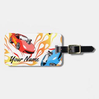 Street racing bag tag