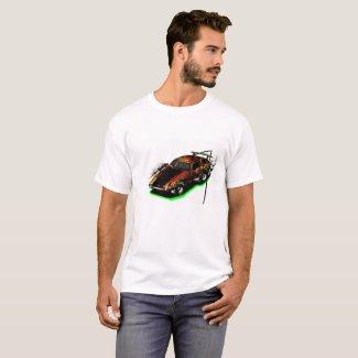 Street Racing Car Tshirt for Men