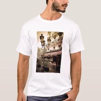 Street restaurant, Paris, France T-Shirt