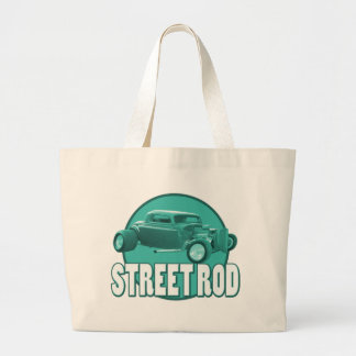 street rod blue circle bag