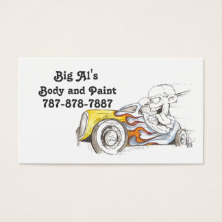 Street Rod Business Cards