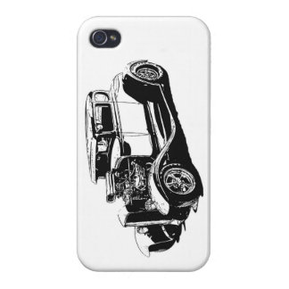 Street Rod Drawing Covers For iPhone 4