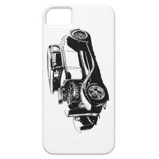 Street Rod Drawing iPhone SE/5/5s Case
