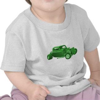 street rod green money tshirt