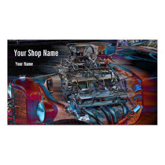 Street Rod Horsepower Double-Sided Standard Business Cards (Pack Of 100)