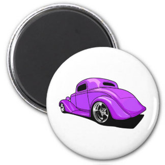 Street Rod Purple Magnet