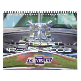 Street Rods 2008 Calendar