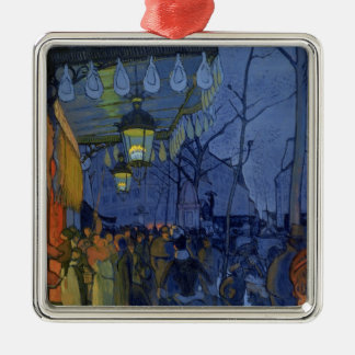 Street Scene, at Five in the Afternoon, 1887 Metal Ornament