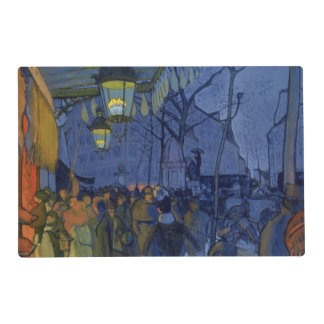 Street Scene, at Five in the Afternoon, 1887 Laminated Place Mat