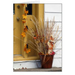Street Scene - Autumn Cards