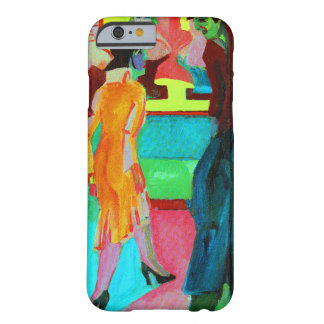 Street Scene by Ernst Ludwig Kirchner Barely There iPhone 6 Case