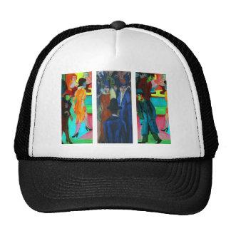 Street Scene by Ernst Ludwig Kirchner Trucker Hat