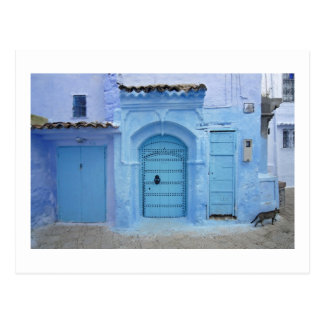 Street Scene, Chefchaouen (Morocco) Postcard
