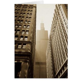 Street Scene - Chicago Card