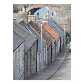 Street Scene - Cullen, Moray, Scotland Postcard