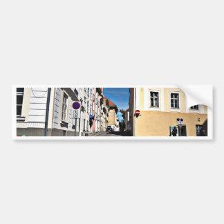 Street Scene Estonia Bumper Sticker