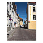 Street Scene Estonia Postcards