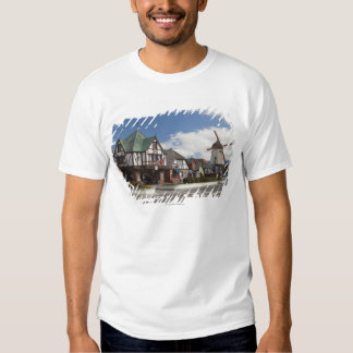 Street Scene from historic Solvang Shirts