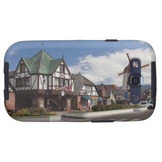 Street Scene from historic Solvang, 'The Danish Galaxy SIII Covers