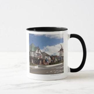 Street Scene from historic Solvang, 'The Danish Mug