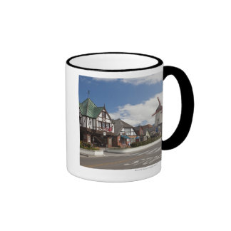 Street Scene from historic Solvang, 'The Danish Ringer Coffee Mug