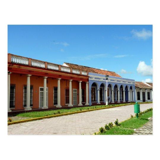 Street scene in Tlacotalpan Postcard