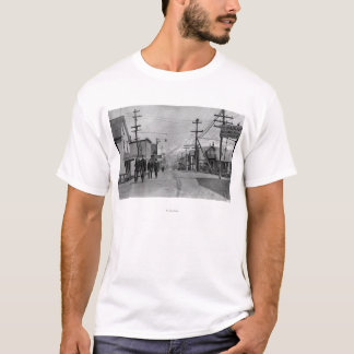 Street Scene in Valdez, Alaska Photograph T-Shirt