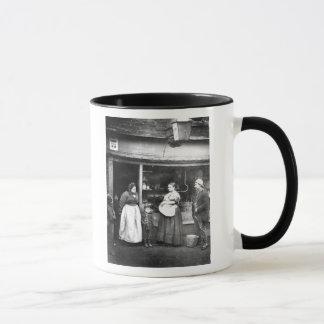 Street scene in Victorian London Mug