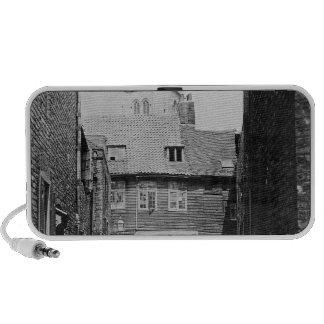 Street scene in Victorian London Laptop Speakers