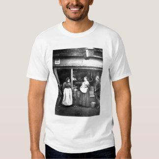 Street scene in Victorian London T Shirt