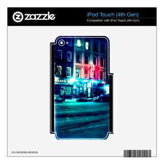 Street Scene iPod Touch 4G Skins