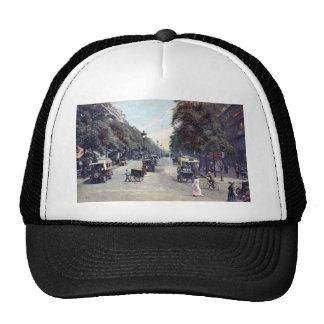 Street Scene, Paris, France c1915 Vintage Trucker Hat