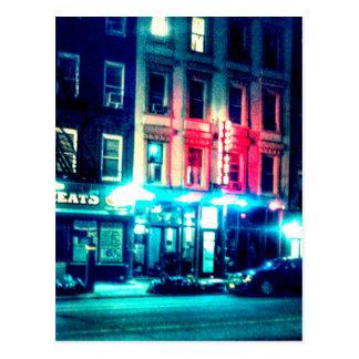 Street Scene Postcard