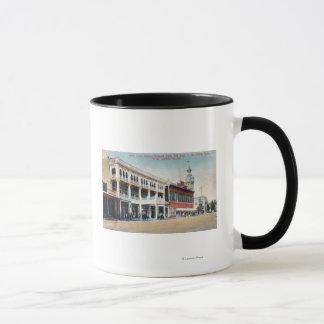 Street Scene Showing the Tremont Hotel Mug