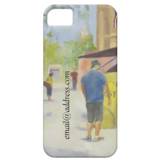 Street Scene Washington DC Original Oil Painting iPhone 5/5S Cover
