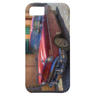 Street scene with old car in Havana iPhone SE/5/5s Case