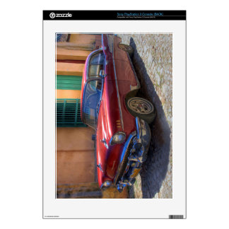 Street scene with old car in Havana PS3 Decals