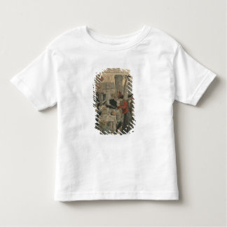 Street scenes of Paris breakfast in open air Toddler T-shirt