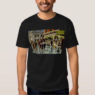 Street Scrubbers at Tulip Time Holland, Michigan T-shirt