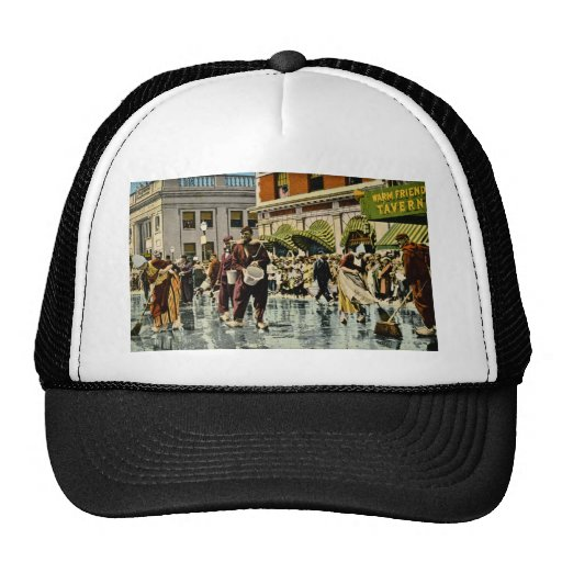 Street Scrubbers at Tulip Time Holland, Michigan Trucker Hat