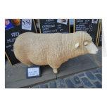 Street Sheep Greeting Card