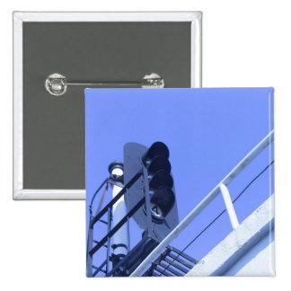 Street Signal Pinback Button