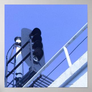 Street Signal Poster