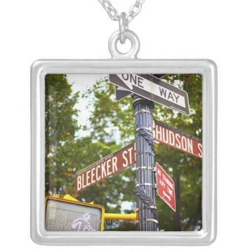 Street Signs 2 Custom Jewelry